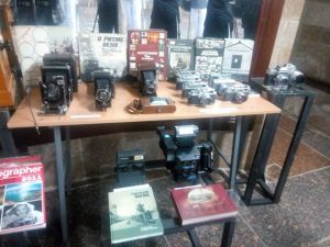 У Кропивницькому створили колекцію фотоапаратів-раритетів та показали «прадіда» 3D (ФОТО)