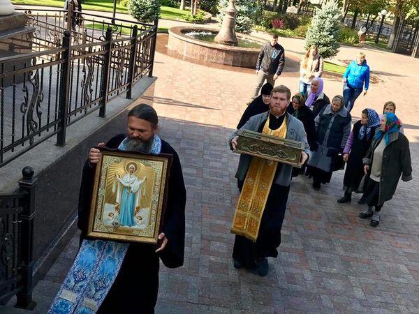 Кропивничан запрошують поклонитися іконі Покрову Пресвятої Богородиці