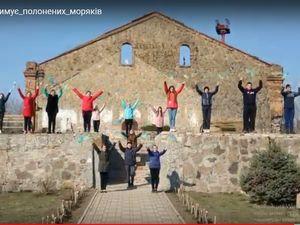 Кіровоградщина: Помічнянські школярі підтримали полонених українських моряків (ВІДЕО)