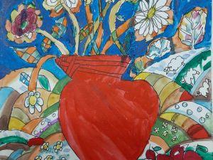 Юні кропивницькі художники представили виставку «Творчий натюрморт»