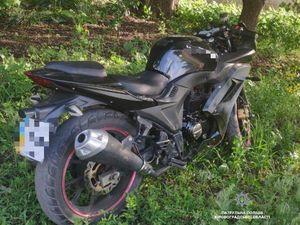 На селищі Новому патрульні знайшли мотоцикл, що перебував в угоні (ФОТО)