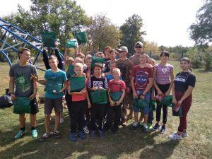 Кропивницькі ротарійці провели військово-спортивні ігри для дітей школи-інтернату (ФОТО)