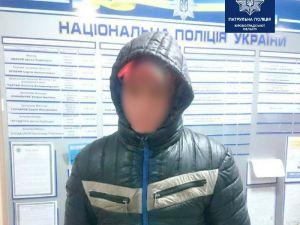 Кіровоградщина: Патрульні випадково затримали злочинця з Західної України