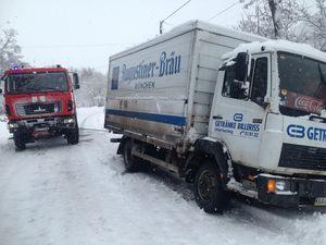 46 раз на добу: сніговий циклон додав клопоту водіям та рятувальникам Кіровоградщини (ФОТО)