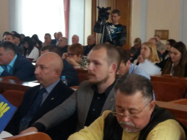 Депутат міської ради Кропивницького склав свої повноваження на сесії