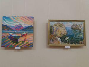 """Гімн морю і небу: У Кропивницькому відкрилася """"блакитна"""" виставка (ФОТО)"""