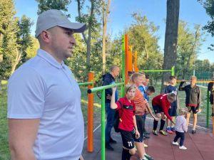Марія Чорна та Андрій Райкович відкрили перший на Кіровоградщині «Активний парк»