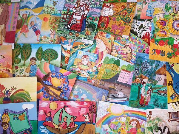 У Франції відкриється виставка дитячих малюнків із Кропивницького