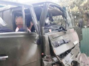 Кіровоградщина: Молоду жінку заблокувало у Камазі під час ДТП