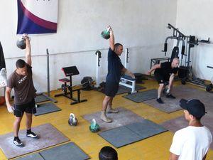 Кропивницькі рятувальники здобули «золото» в змаганнях з гирьового спорту