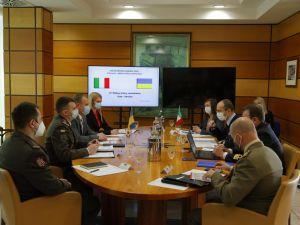 У Римі пройшли українсько-італійські воєнно-політичні консультації