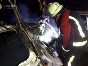 На Гайворонщині під час аварії загинуло троє молодих людей
