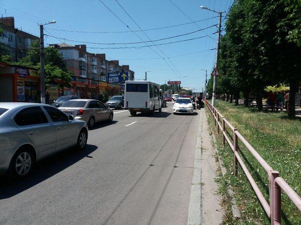 Кропивницький: З'явилися подробиці ДТП біля Критого ринку (ФОТО)