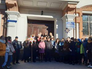 """Кропивницький: Студенти педагогічного університету долучилися до акції """"Нова радість стала"""" (ВІДЕО, ФОТО)"""