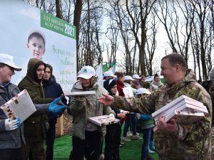 На Кіровоградщині висадили 34 тисячі молодих саджанців