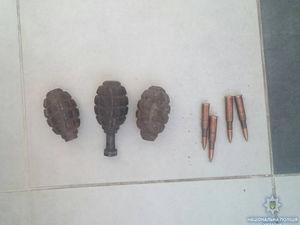 На Кіровоградщині чоловік зберігав у веранді набої та гранати