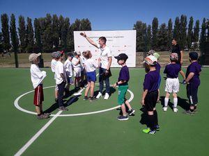 ПриватБанк і Mastercard відкрили дітям футбольний майданчик у Броварах