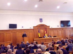 Як політична еліта Кіровоградщини зустрічала нового очільника області (ФОТО)