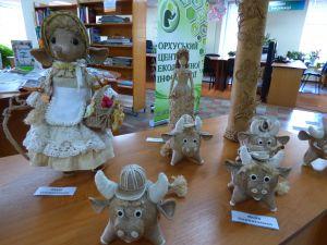 У бібліотеці Чижевського представили «Плетені фантазії»