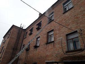 Петрівський район: під час гасіння пожежі рятувальники виявили тіло загиблого чоловіка