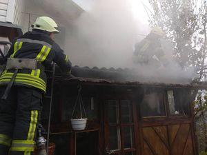 У Кропивницькому під час пожежі вогнеборці врятували маленьке цуценя (ФОТО)