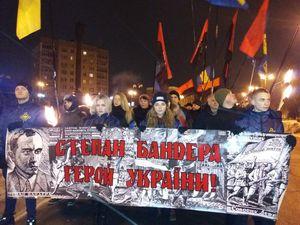 Кропивницький: Націоналісти відзначили день народження Провідника смолоскипною ходою (ФОТО, ВІДЕО)