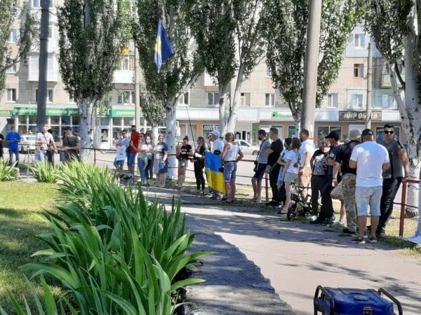 Кропивницький: Рух Опору Капітуляції закликає перейменувати площу Дружби народів (ФОТО)