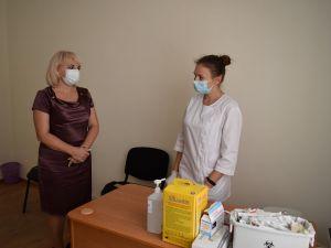 У Кропивницькій міській раді вакцинували від коронавірусу
