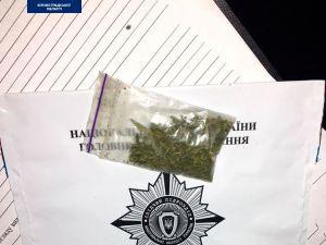 На Лелеківці патрульні затримали водія з наркотиками