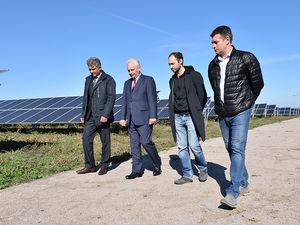На Кіровоградщині побудували найпотужнішу сонячну електростанцію