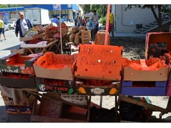 Кропивницький: Максюта відрапортував, що подолав вуличну торгівлю (ФОТО)