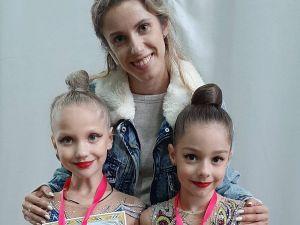 Гімнастки з Кропивницького вибороли 24 медалі на відкритій першості міста