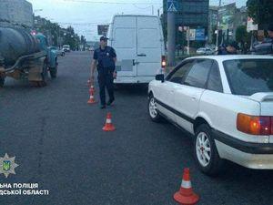 У Кропивницькому водій у стані сп'яніння чинив патрульним опір при затриманні
