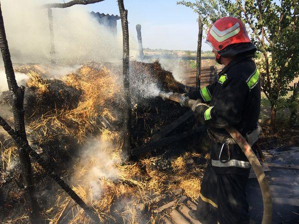 На Кіровоградщині під час пожежі загинула чотирирічна дитина