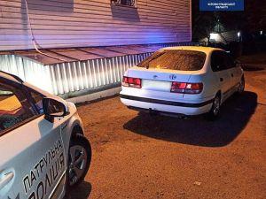 У Кропивницькому патрульні затримали п'яного водія за кермом