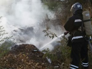 Протягом доби у Кіровоградській області загасили 15 пожеж на відкритих територіях