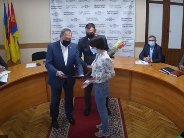 Кропивницький: Міська рада привітала журналістів з професійним святом (ВІДЕО)