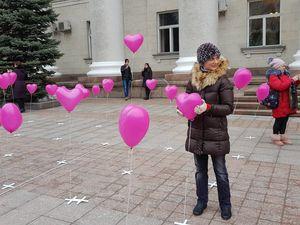 Що сьогодні чекає кропивничан під міськрадою в день Святого Валентина? (ВІДЕО)