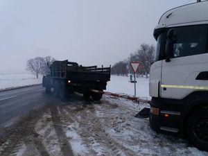 На Кіровоградщині в полоні негоди опинились автівки (ФОТО)