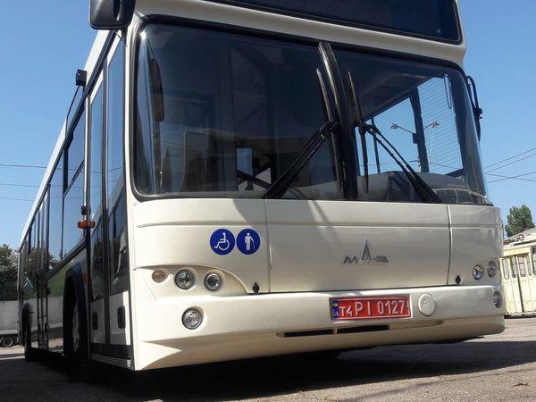 У новеньких кропивницьких автобусах спеціалісти встановили «тривожні» кнопки