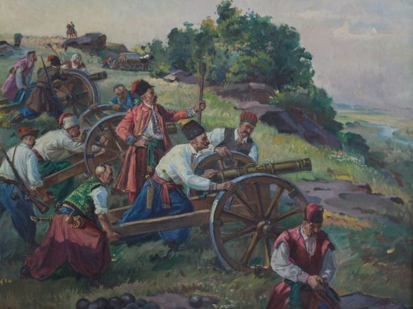 У Кропивницькому розгорнули виставку художника Миколи Бондаренка