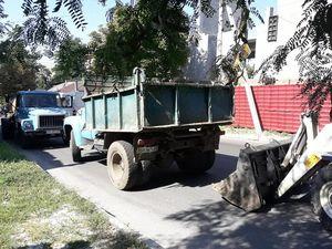 Проблема прориву водної мережі на вулиці Михайлівська вирішено, наслідки аварії ліквідовуються