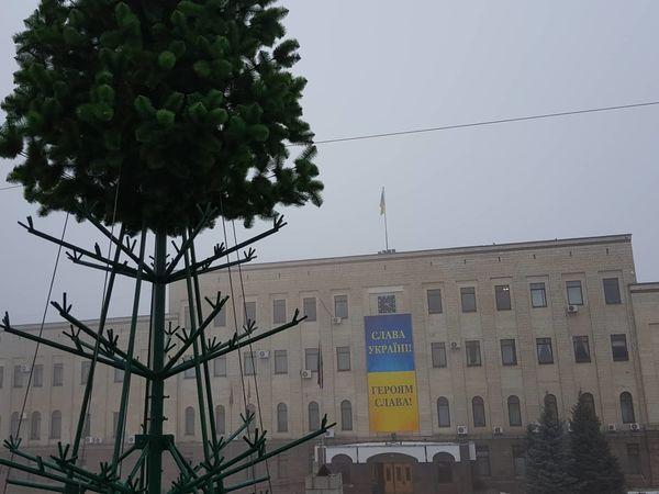 Завтра у Кропивницькому демонтують новорічну ялинку