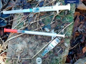 Кропивницький: Патрульні затримують молодиків з наркотиками