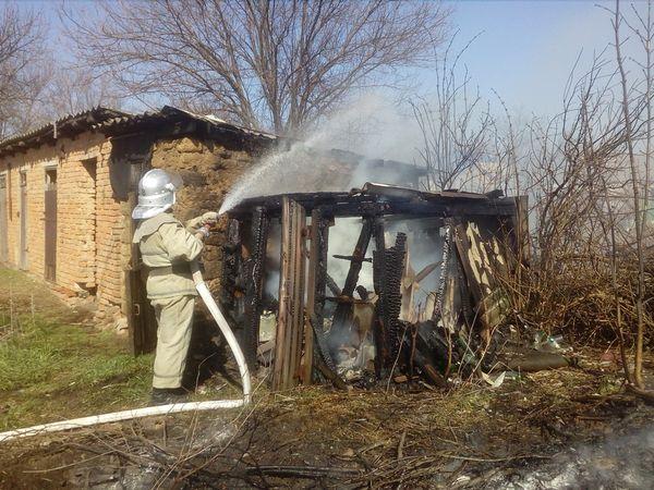 На Кіровоградщині за добу сталося п'ять пожеж