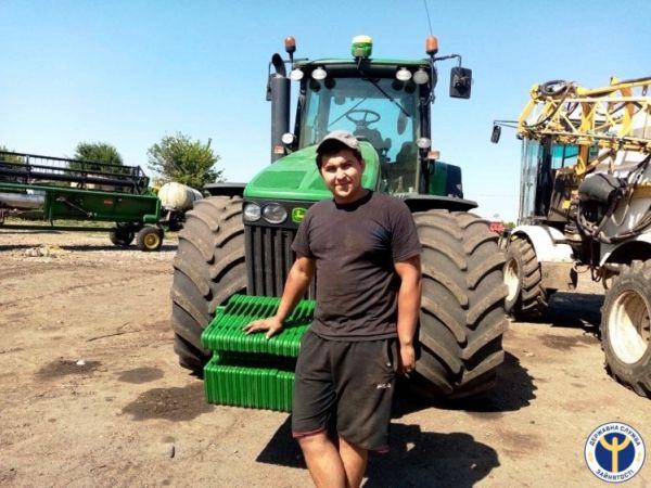 Кіровоградщина: Як колишній військовий став трактористом