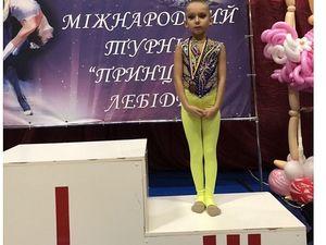 """На міжнародному турнірі з художньої гімнастики дві юні кропивничанки вибороли """"бронзу"""""""