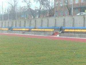 Кропивницький: На факультеті фізичного виховання педуніверу звели сучасний стадіон