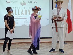 У Кропивницькому прочитали трагедію польського драматурга «Балладина»