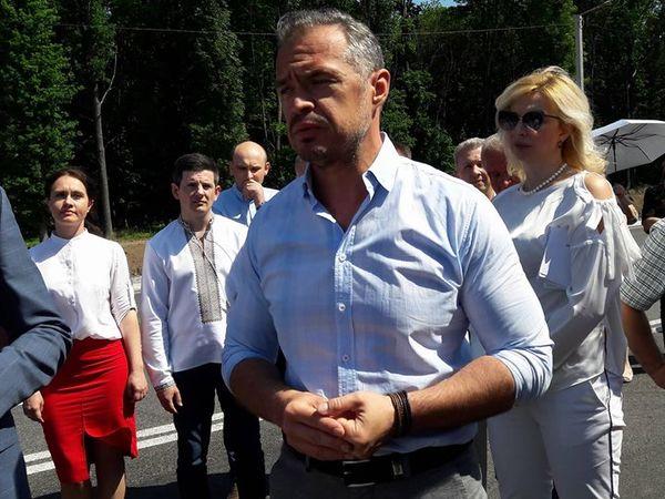 На Кіровоградщину прибув міністр Укравтодору (ФОТО)